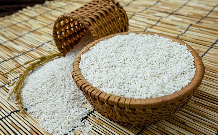 Cách dùng gạo nếp chữa bệnh zona