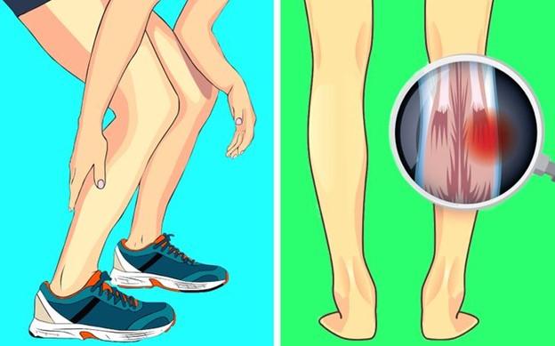 Chân hay bị co rút
