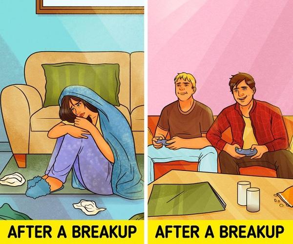 Chấp nhận cuộc chia tay một cách tốt hơn