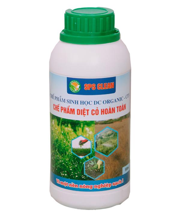 Chế phẩm sinh học DC ORGANIC chế phẩm diệt cỏ hoàn toàn