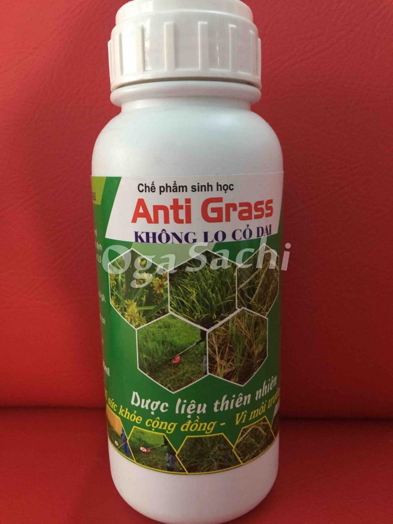 Chế phẩm sinh học diệt cỏ Anti Grass