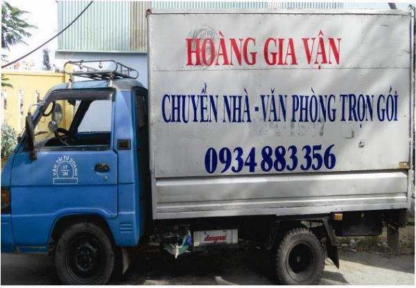 Công ty TNHH 1 Thành Viên DV VẬN TẢI HOÀNG GIA VẬN
