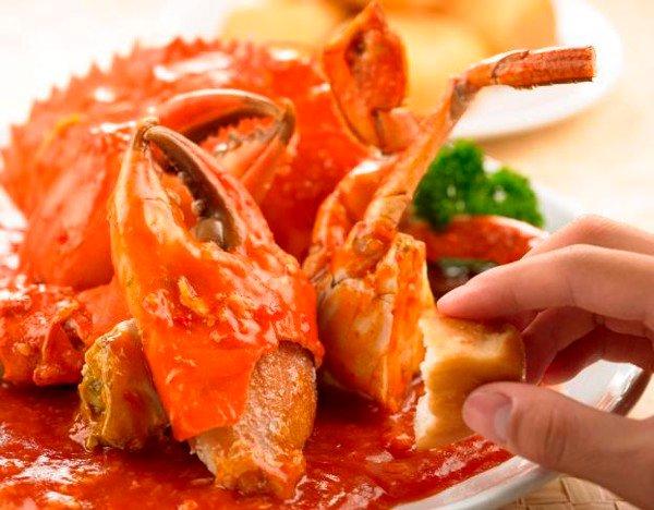 Cua biển sốt ớt kiểu Hàn