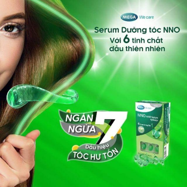 Dầu dưỡng nuôi dưỡng và bảo vệ tóc Mega NNO Hair Serum