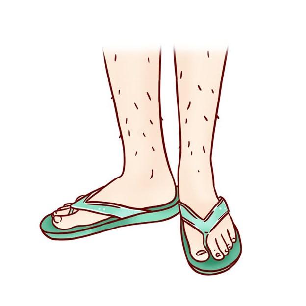 Đế dài hơn bàn chân