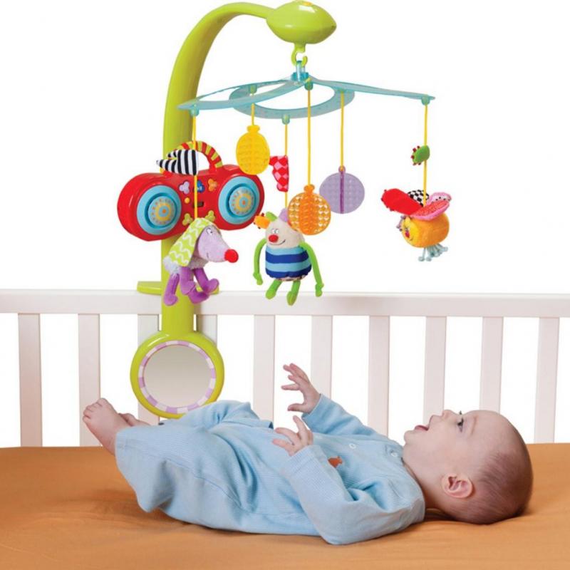 Đồ chơi treo nôi, giường hay treo xe cho bé sơ sinh