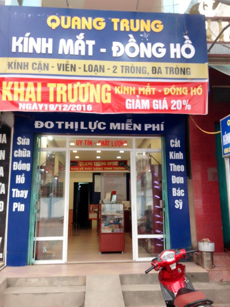 Đồng Hồ - Kính Mắt Quang Trung