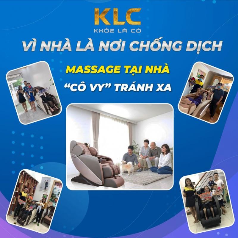 Ghế Massage Chính Hãng KLC Hạ Long