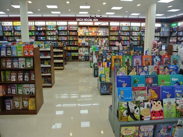 Hiệu sách tại Big C Bắc Giang