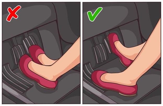 Hỗ trợ lưng của bạn bằng chân