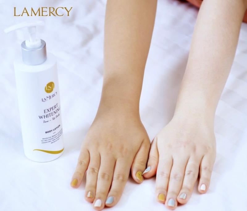 Kem dưỡng trắng Lamercy Expert Whitening Body Lotion