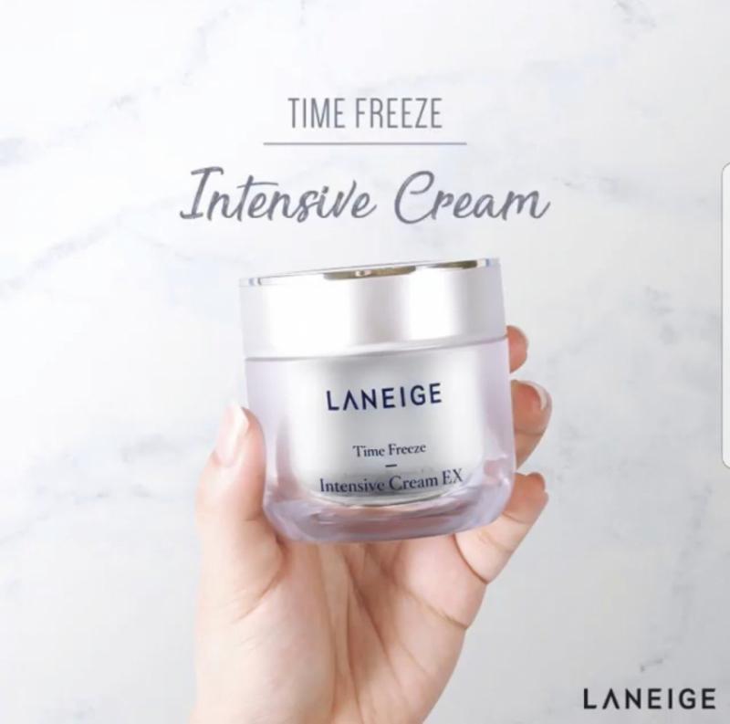 Kem giảm nếp nhăn và săn chắc da Laneige Time Freeze Intensive Cream EX