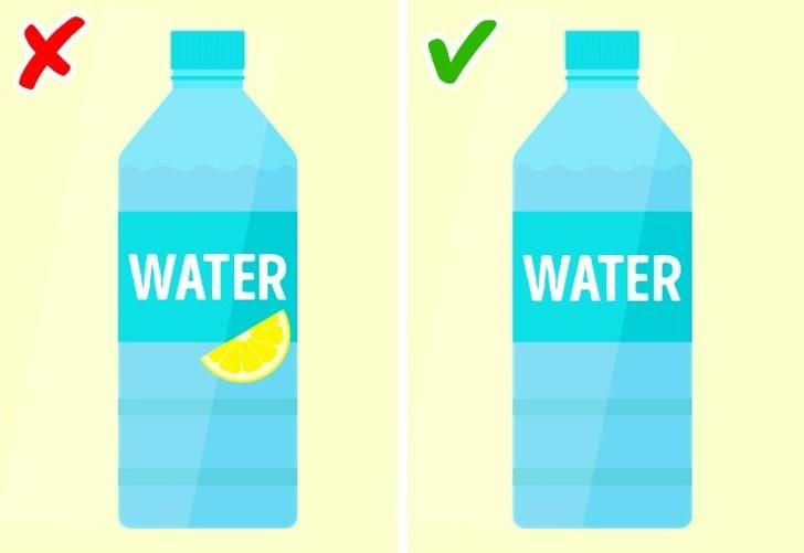 Khi nước chứa chất làm ngọt nhân tạo