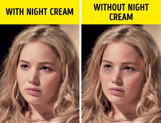Không thoa sản phẩm chăm sóc da trước khi đi ngủ