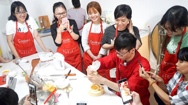 Lớp học nấu ăn Cookyvn
