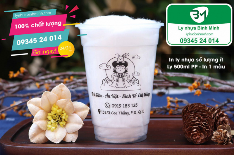 Ly nhựa Bình Minh