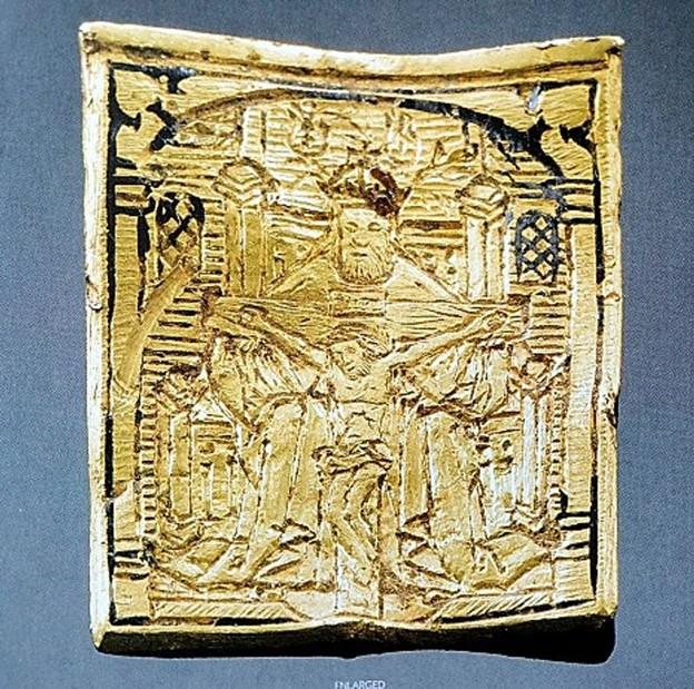 Mặt dây chuyền vàng thế kỷ 15