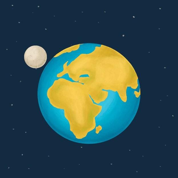 Mặt trăng sẽ từ từ rơi xuống Trái đất