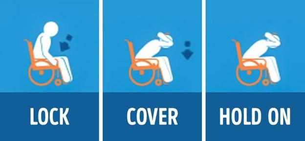 Nếu ai đang ngồi trên xe lăn