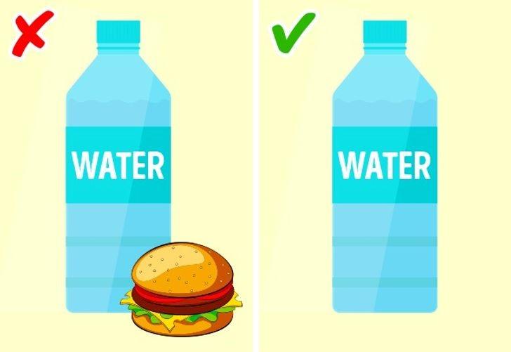 Ngay trước, trong hoặc sau khi dùng bữa