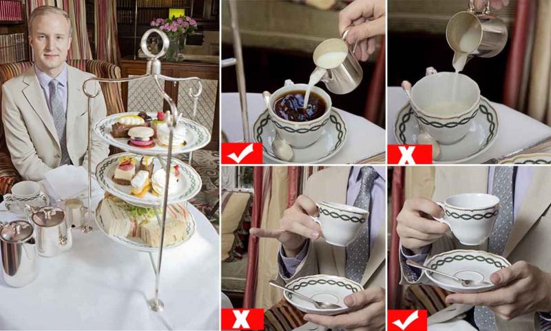 Nghi thức uống trà ở quần đảo Anh