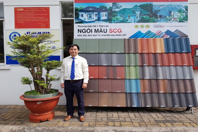 Ngói màu SCG Thái Lan