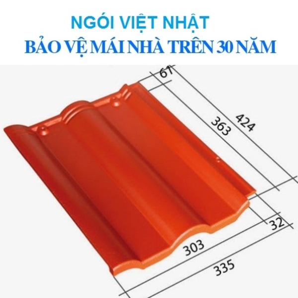 Ngói màu Việt Nhật