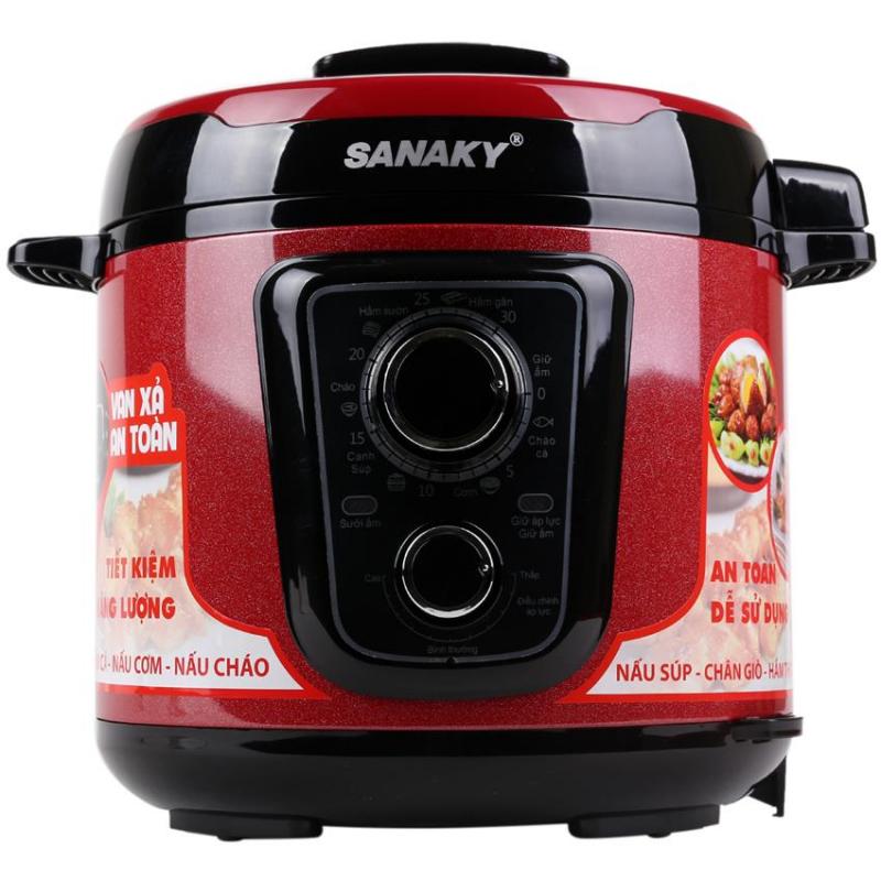 Nồi áp suất điện Sanaky