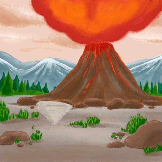 Núi lửa phun trào, bão và động đất sẽ bắt đầu hình thành