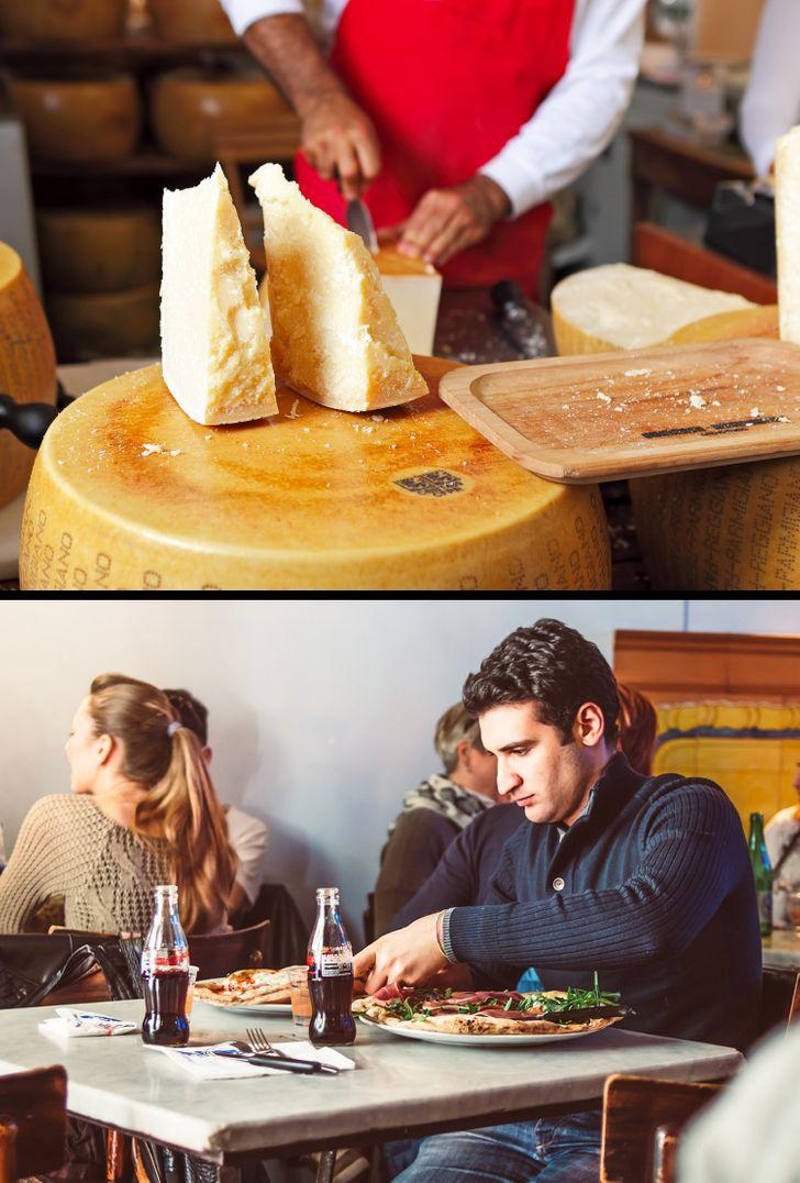 Ở Ý, bạn sẽ xúc phạm đầu bếp nếu bạn yêu cầu thêm pho mát