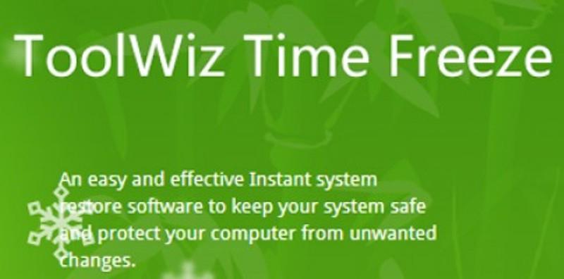 Phần mềm ToolWiz Time Freeze