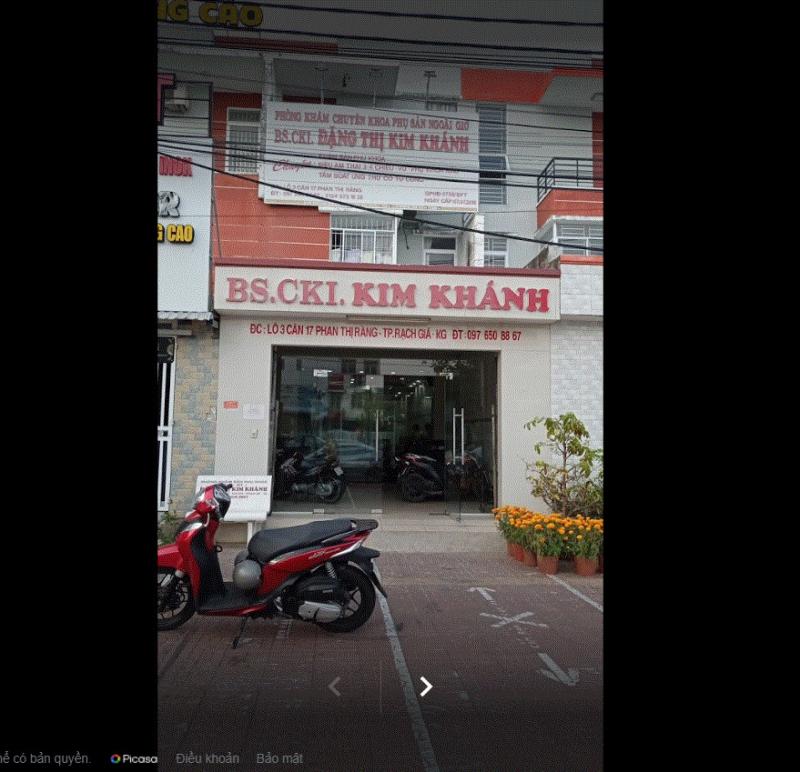 Phòng khám sản phụ khoa – BS Đặng Thị Kim Khánh