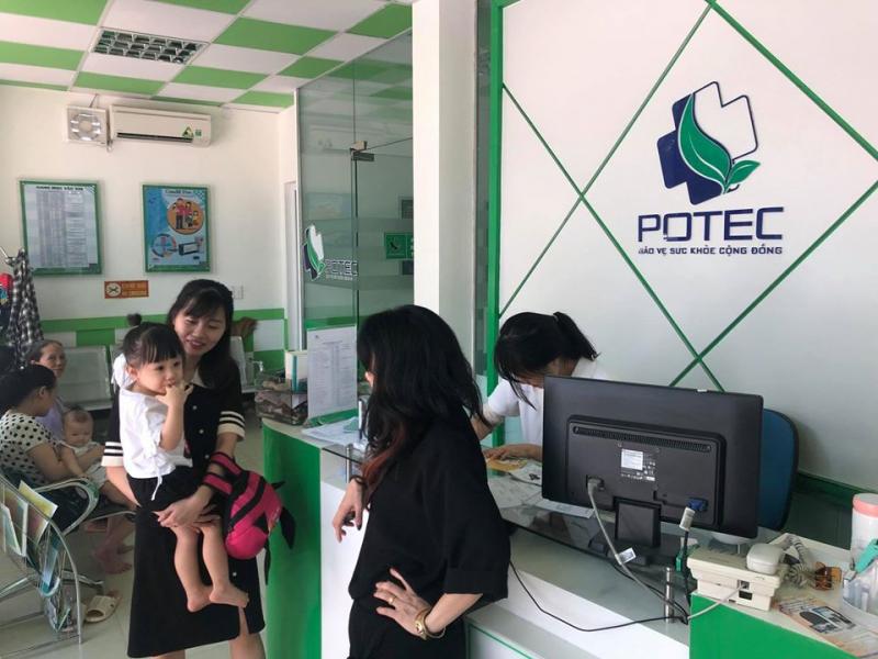 Phòng tiêm chủng vắc xin POTEC 50 - Đông Âu