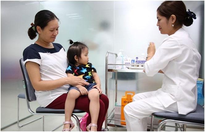 Phòng tiêm vacxin Trung tâm y tế TP Vinh