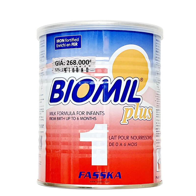 Sữa Biomil Plus 1