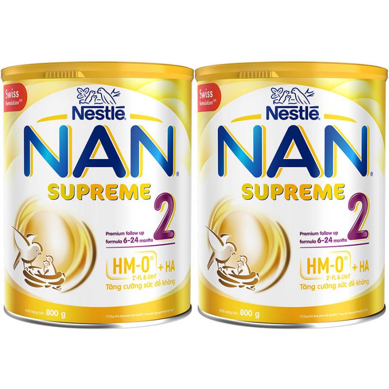 Sữa Bột Nestlé NAN SUPREME 2