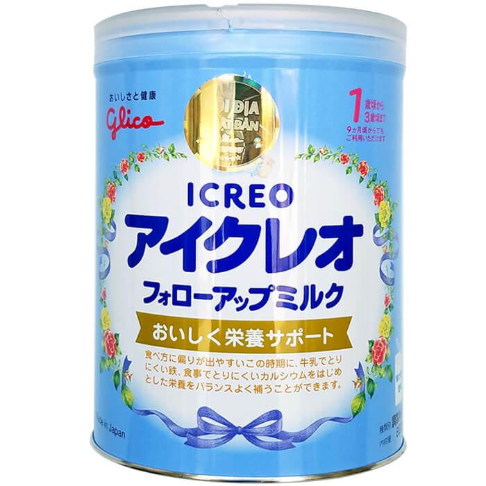 Sữa Glico Icreo số 1 820g nội địa Nhật Bản
