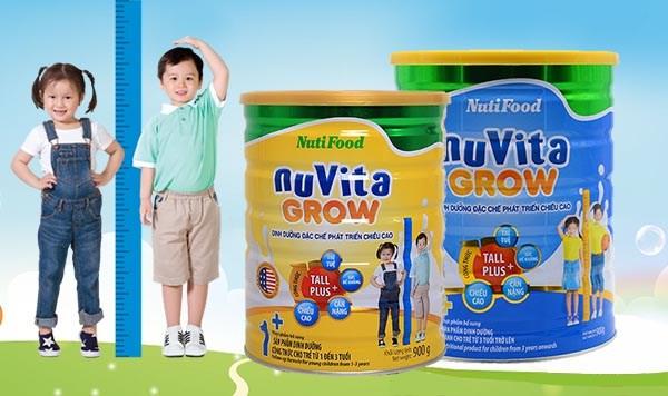 Sữa Nuvita Grow 3+ (cho bé 3 tuổi trở lên)