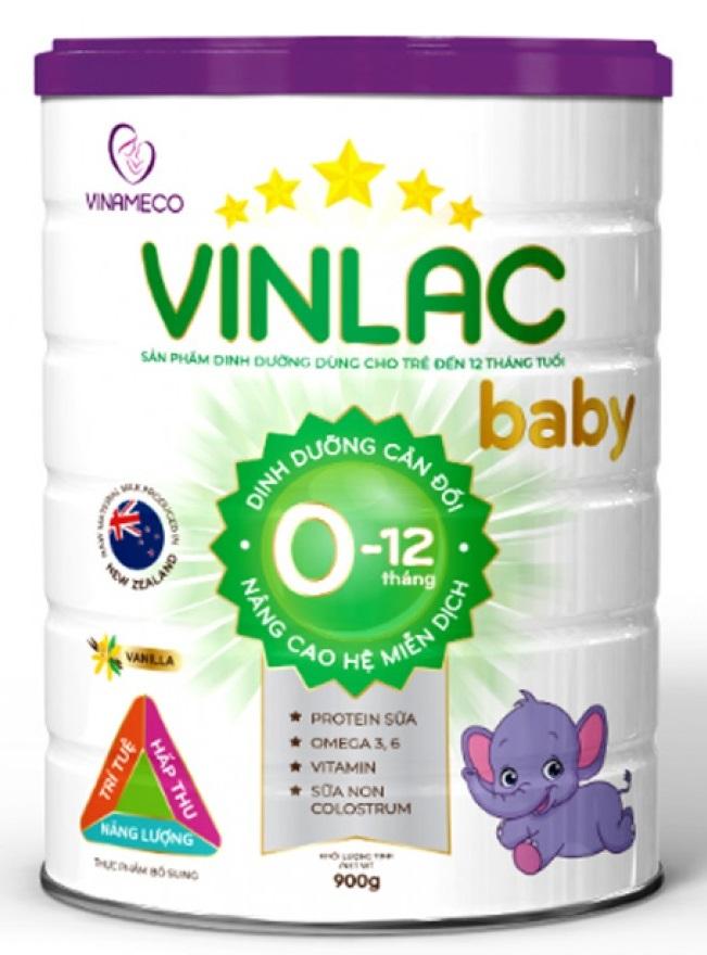 Sữa Vinlac Baby 0-12 tháng