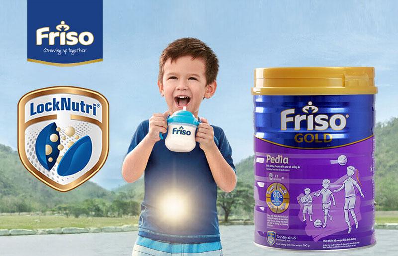 Sữa bột Friso Gold Pedia