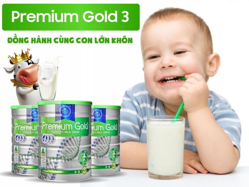 Sữa bột Hoàng Gia Úc Royal Ausnz Premium Gold 3