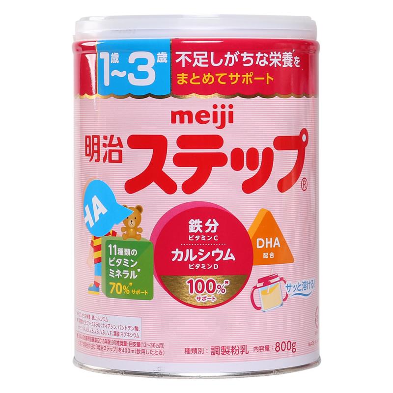 Sữa bột Meiji Nhật Bản số 9 cho trẻ 1 – 3 tuổi