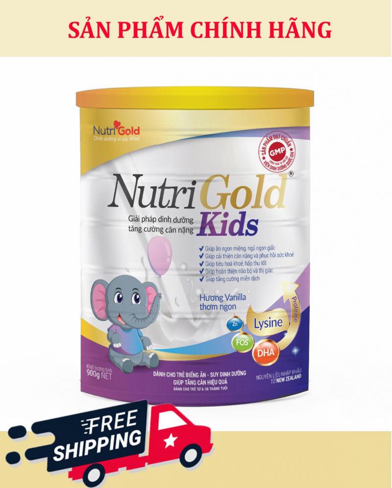 Sữa bột NutriGold Kids (cho trẻ 6-36 tháng tuổi)