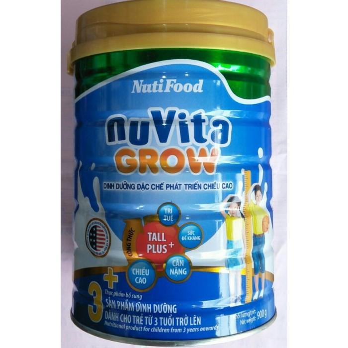Sữa bột Nuvita Grow 3+