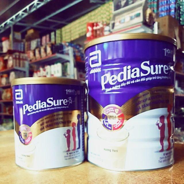Sữa bột Pediasure 850g hương vani