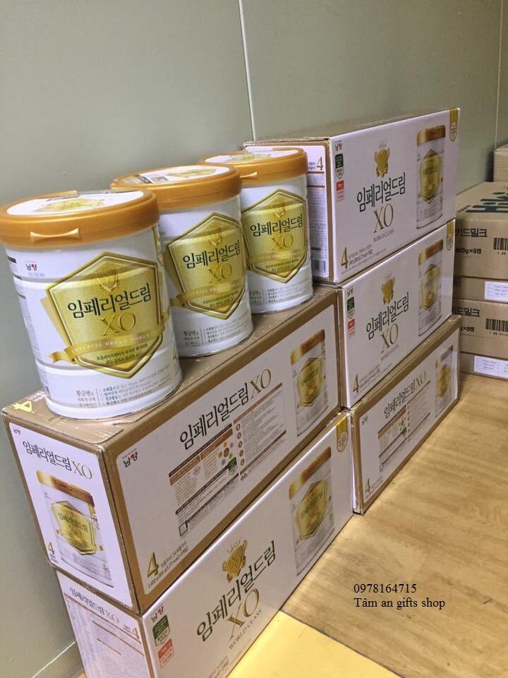 Sữa bột XO số 4 Hàn Quốc