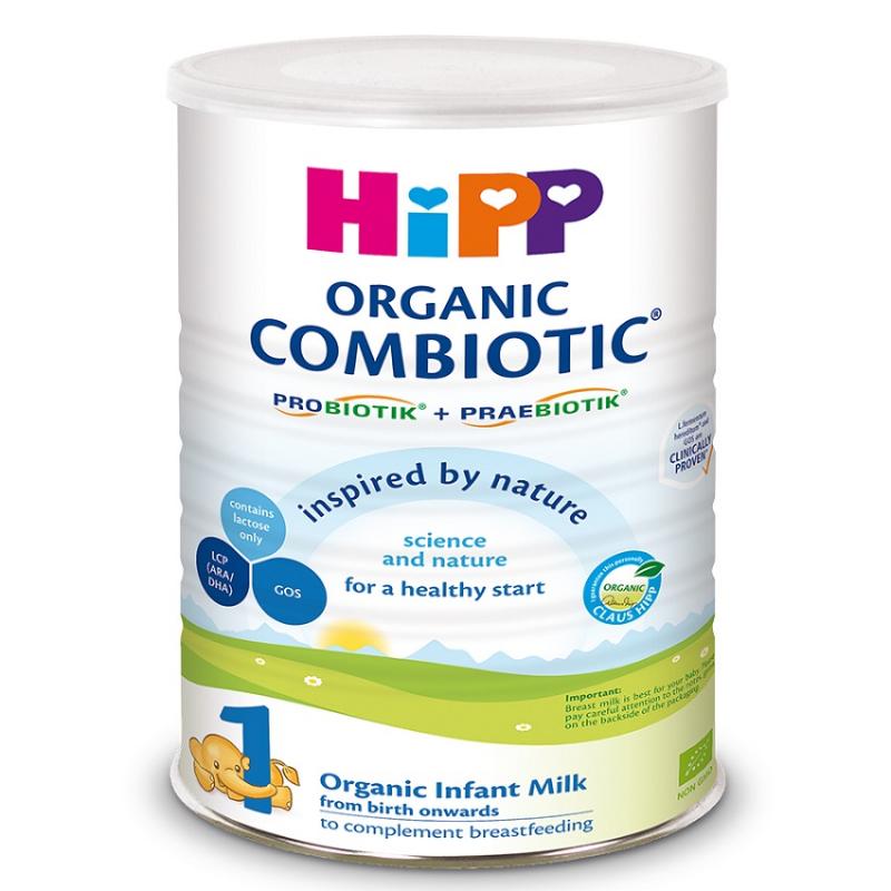 Sữa bột công thức HiPP 1 Organic Combiotic