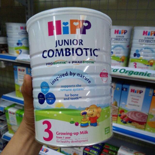 Sữa bột dinh dưỡng HiPP 3 Junior Combiotic Organic