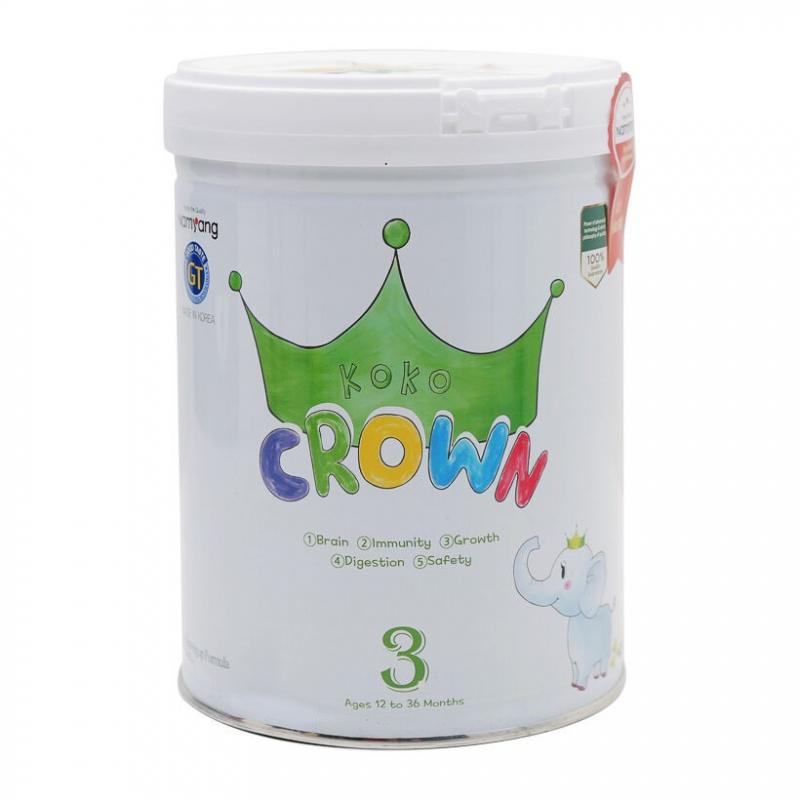 Sữa bột dinh dưỡng Koko Crown 3