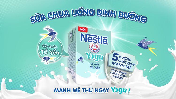 Sữa chua uống Nestl'e Yogu